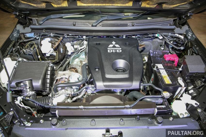 Mitsubishi Triton VGT dipertingkat dilancarkan- 2.4L MIVEC Turbodiesel, 181 PS/430 Nm, varian X baharu Image #544981