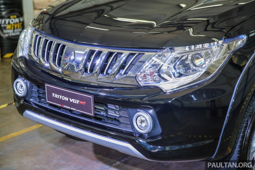 Mitsubishi Triton VGT dipertingkat dilancarkan- 2.4L MIVEC Turbodiesel, 181 PS/430 Nm, varian X baharu Image #544979