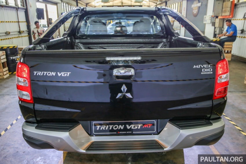 Mitsubishi Triton VGT dipertingkat dilancarkan- 2.4L MIVEC Turbodiesel, 181 PS/430 Nm, varian X baharu Image #544977