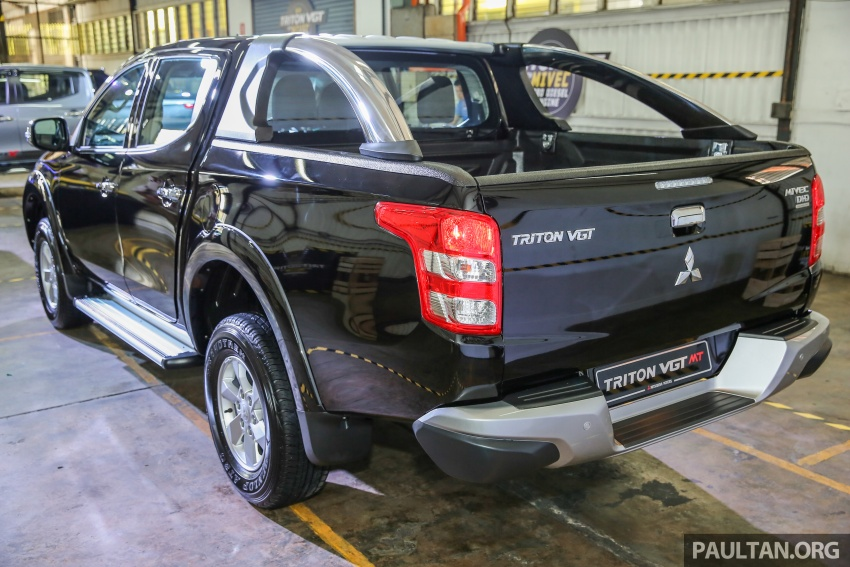 Mitsubishi Triton VGT upgraded – now with 181 PS, 430 Nm 2.4L MIVEC diesel engine, new X variant Image #545063