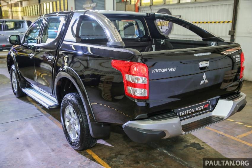 Mitsubishi Triton VGT dipertingkat dilancarkan- 2.4L MIVEC Turbodiesel, 181 PS/430 Nm, varian X baharu Image #544973