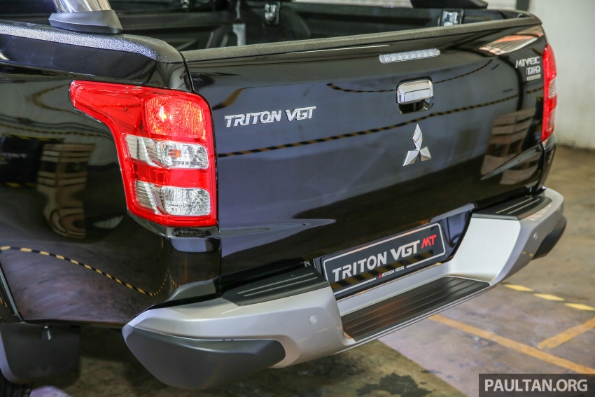 Mitsubishi Triton VGT upgraded – now with 181 PS, 430 Nm 2.4L MIVEC diesel engine, new X variant Image #545065