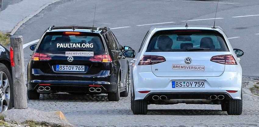 spyshot volkswagen golf r mk7 facelift muncul image 549040. Black Bedroom Furniture Sets. Home Design Ideas