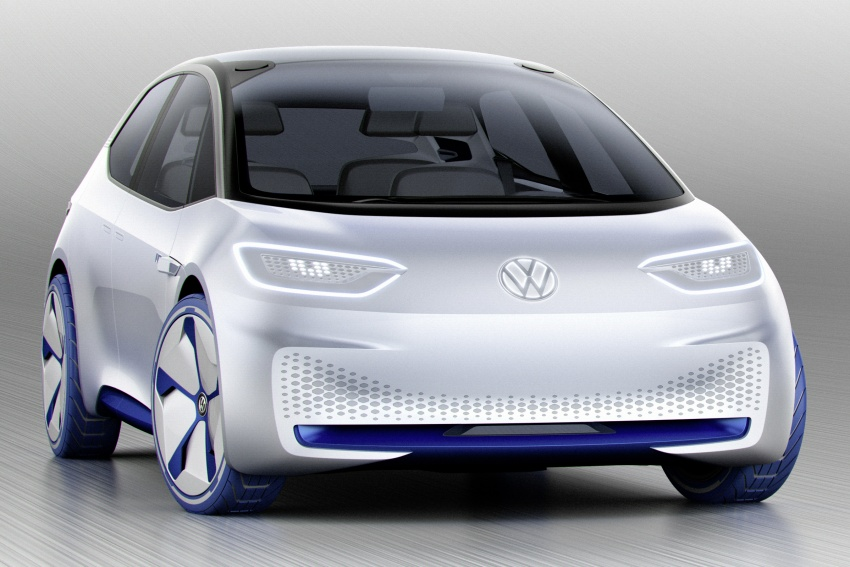 Volkswagen ID. concept previews new electric vehicle – 600 km range, on sale in 2020, autonomous in 2025 Image #557201