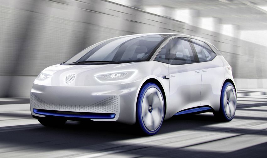 Volkswagen ID. concept previews new electric vehicle – 600 km range, on sale in 2020, autonomous in 2025 Image #557216
