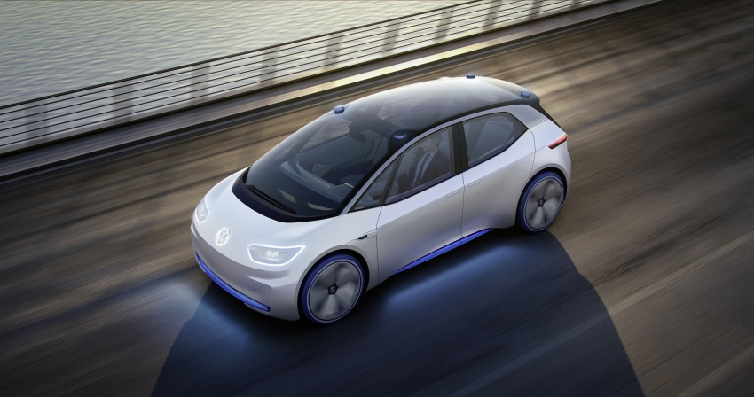 Volkswagen ID. concept previews new electric vehicle – 600 km range, on sale in 2020, autonomous in 2025 Image #557218