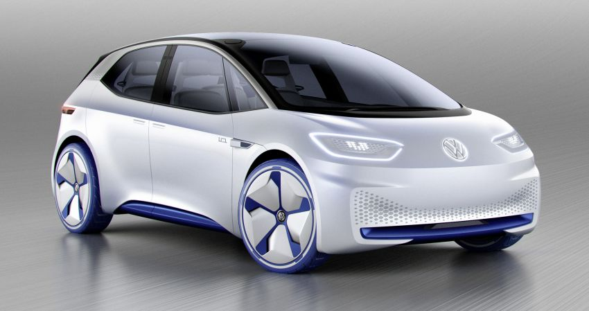 Volkswagen ID. concept previews new electric vehicle – 600 km range, on sale in 2020, autonomous in 2025 Image #557222