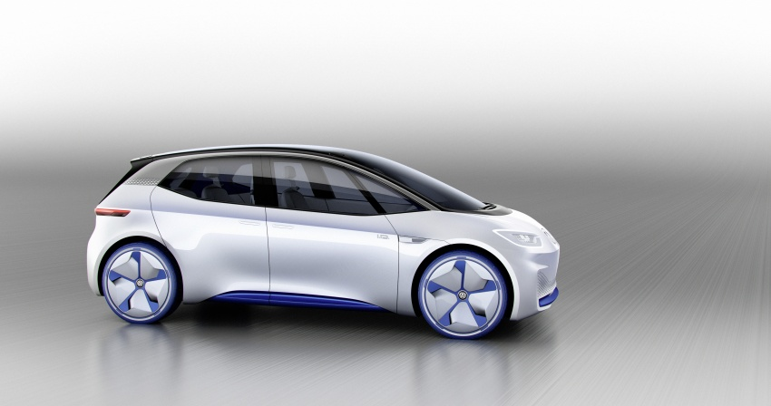 Volkswagen I.D. concept previews new electric vehicle – 600 km range, on sale in 2020, autonomous in 2025 Image #557202