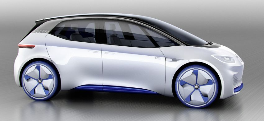 Volkswagen ID. concept previews new electric vehicle – 600 km range, on sale in 2020, autonomous in 2025 Image #557202