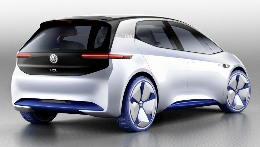 Volkswagen ID. concept previews new electric vehicle – 600 km range, on sale in 2020, autonomous in 2025 Image #557203