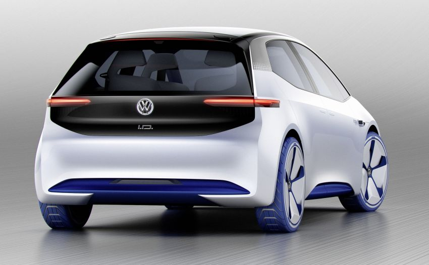 Volkswagen ID. concept previews new electric vehicle – 600 km range, on sale in 2020, autonomous in 2025 Image #557204