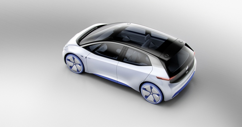 Volkswagen I.D. concept previews new electric vehicle – 600 km range, on sale in 2020, autonomous in 2025 Image #557206