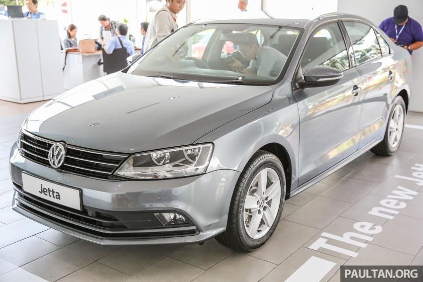 Volkswagen Jetta 2016 dilancarkan di Malaysia – tiga varian, 1.4 TSI turbo tunggal, harga bermula RM109k Image #554026
