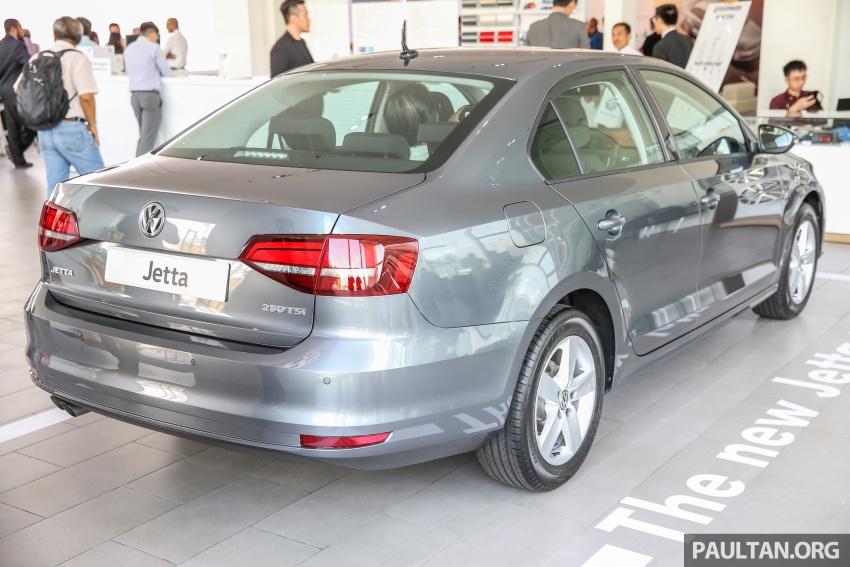 Volkswagen Jetta 2016 dilancarkan di Malaysia – tiga varian, 1.4 TSI turbo tunggal, harga bermula RM109k Image #554027