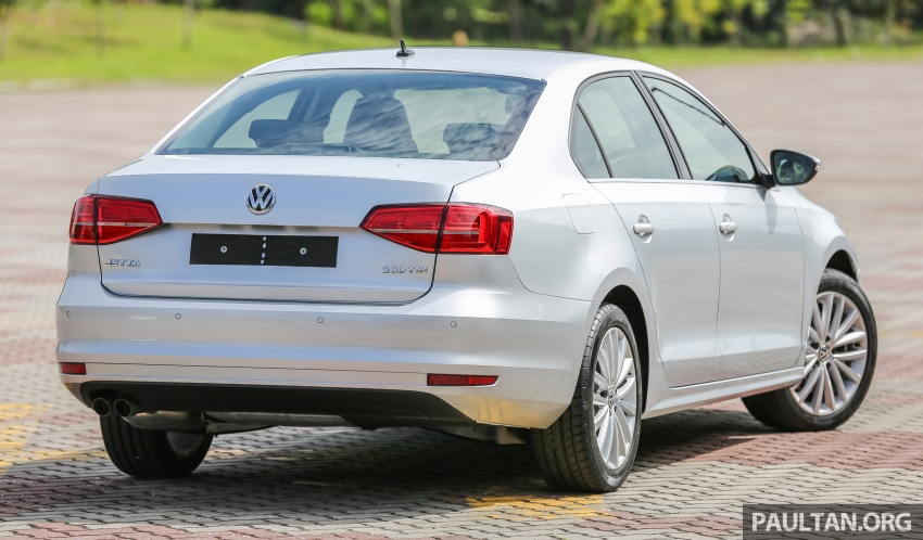 Volkswagen Jetta 2016 dilancarkan di Malaysia – tiga varian, 1.4 TSI turbo tunggal, harga bermula RM109k Image #552784