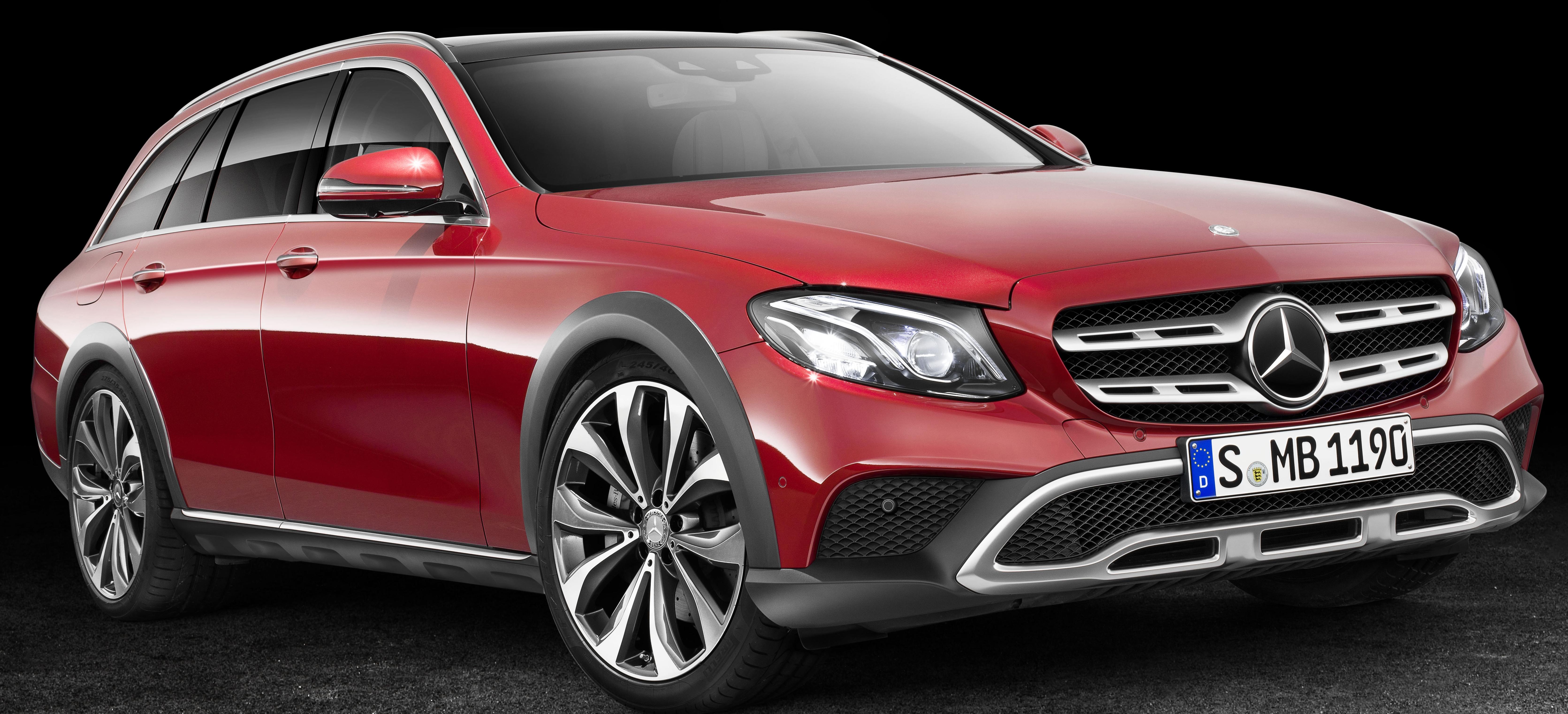 Mercedes benz e class x213 all terrain bakal saingi audi for What country is mercedes benz from