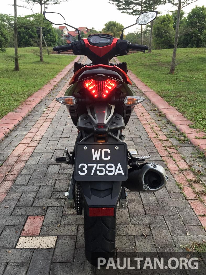 Honda RS150R vs Yamaha Y15ZR – Dua model terhangat bersemuka dalam segmen kapcai sports Image #549534