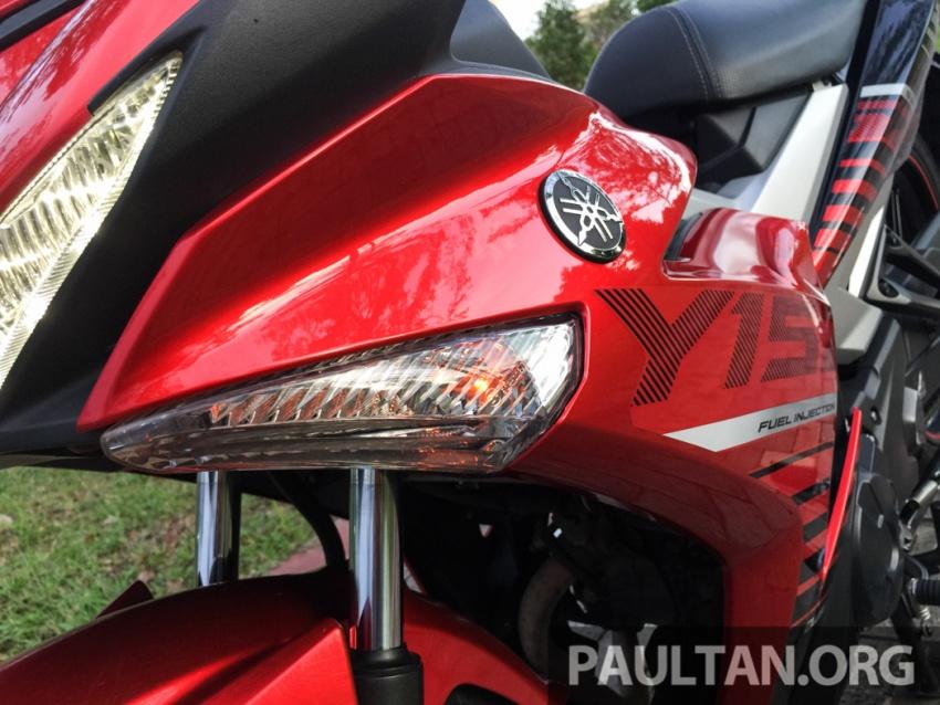 Honda RS150R vs Yamaha Y15ZR – Dua model terhangat bersemuka dalam segmen kapcai sports Image #549549