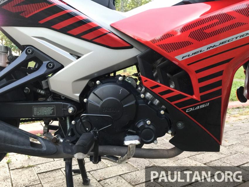 Honda RS150R vs Yamaha Y15ZR – Dua model terhangat bersemuka dalam segmen kapcai sports Image #549556
