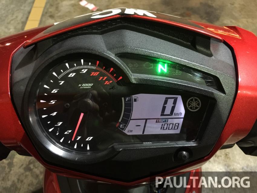 Honda RS150R vs Yamaha Y15ZR – Dua model terhangat bersemuka dalam segmen kapcai sports Image #549561
