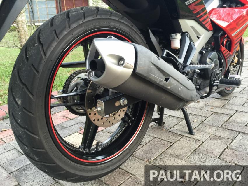 Honda RS150R vs Yamaha Y15ZR – Dua model terhangat bersemuka dalam segmen kapcai sports Image #549540