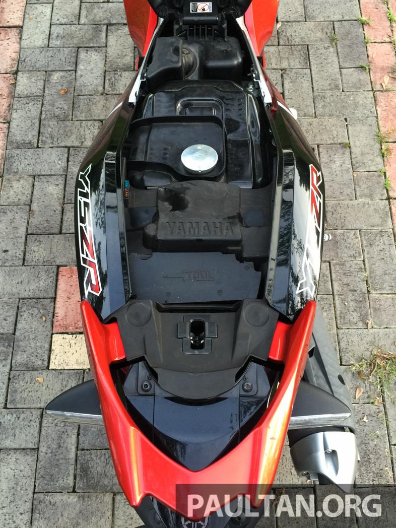 Honda RS150R vs Yamaha Y15ZR – Dua model terhangat bersemuka dalam segmen kapcai sports Image #549542