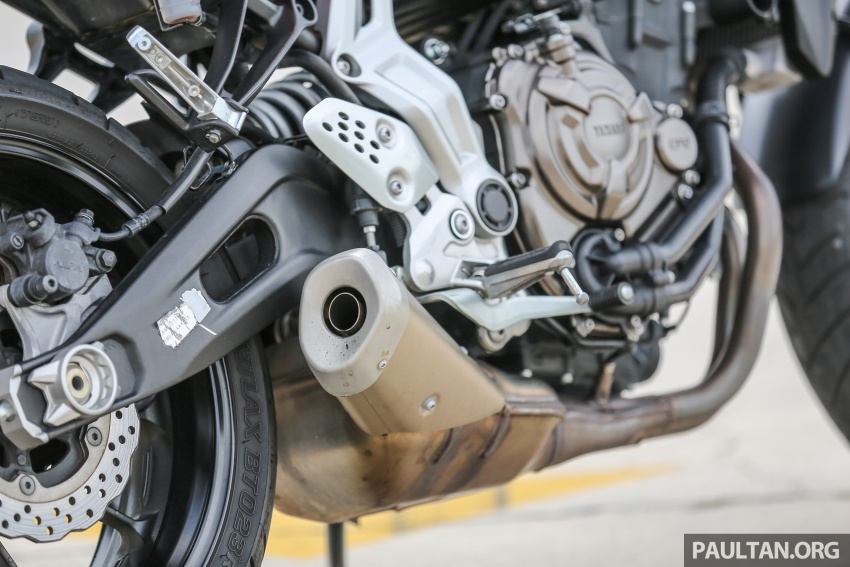 REVIEW: 2016 Yamaha MT-07 – a hooligan bike in commuter clothing, with some touring on the side Image #551044