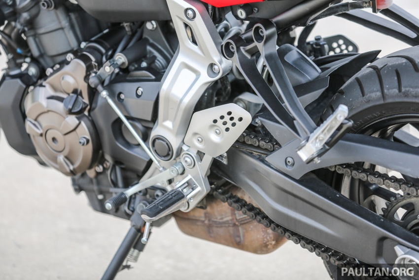 REVIEW: 2016 Yamaha MT-07 – a hooligan bike in commuter clothing, with some touring on the side Image #551059
