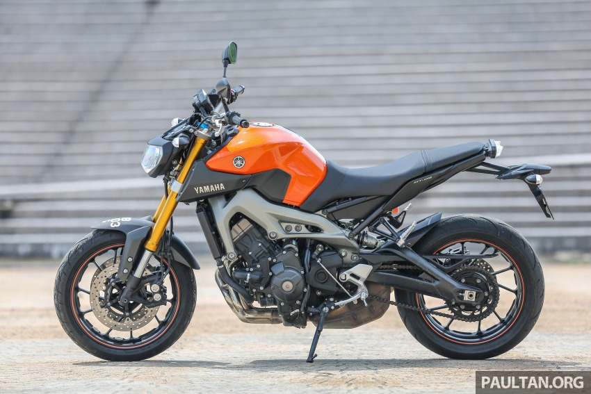 REVIEW: 2015 Yamaha MT-09 – more is always better? Image #557556