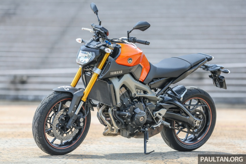 REVIEW: 2015 Yamaha MT-09 – more is always better? Image #557576
