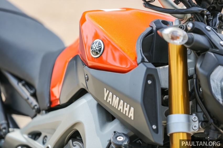 REVIEW: 2015 Yamaha MT-09 – more is always better? Image #557583