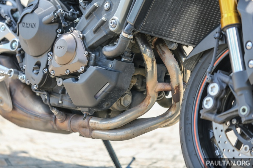 REVIEW: 2015 Yamaha MT-09 – more is always better? Image #557586