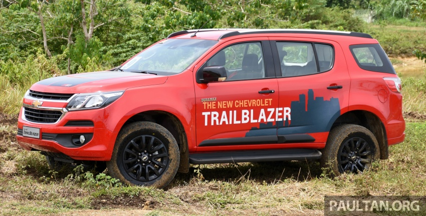 Chevrolet Trailblazer facelift being looked at for Malaysia – Trax SUV and Cruze planned for 2017 Image #550747