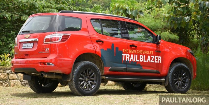 Chevrolet Trailblazer facelift bakal mendarat di Malaysia pada Q1 2017, diikuti SUV Trax dan Cruze Image #550908