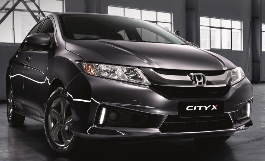 Honda City dan Jazz edisi X diperkenalkan – keluaran terhad kepada 450 unit dan 300 unit masing-masing Image #542573