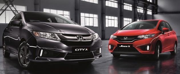 Honda X Edition City And Jazz