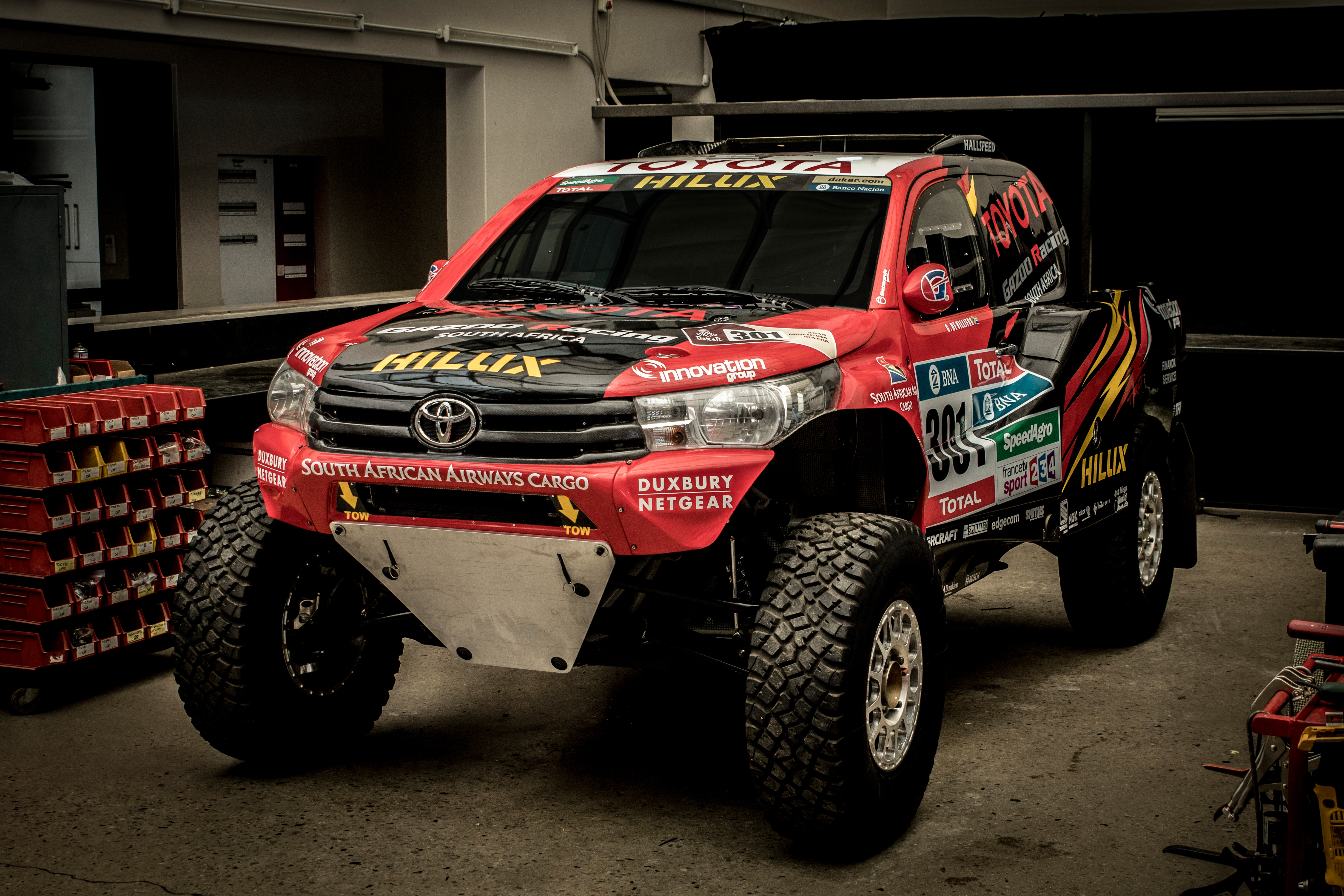 Toyota Gazoo Racing Unveil 2017 Dakar Rally Hilux Evo
