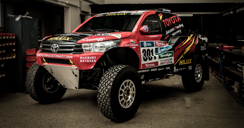 Toyota Gazoo Racing Unveil 2017 Dakar Rally Hilux Evo