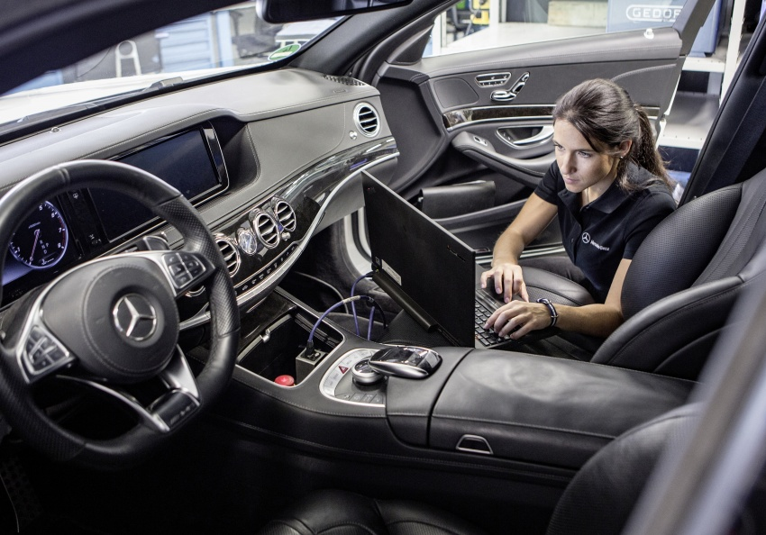 Mercedes-Benz reveals first details of new engine family – 48V, mild hybrid and electric turbo Image #571629