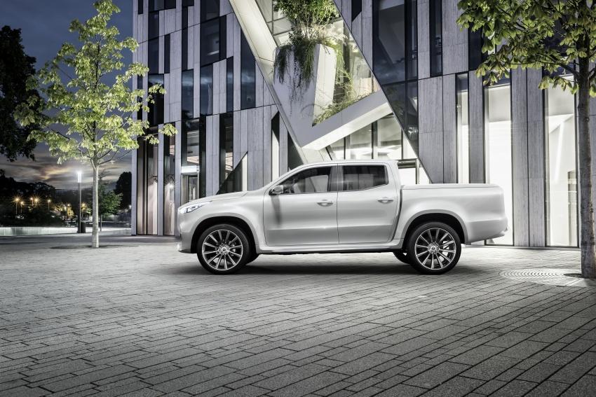 Pikap konsep Mercedes-Benz X-Class didedahkan Image #569279