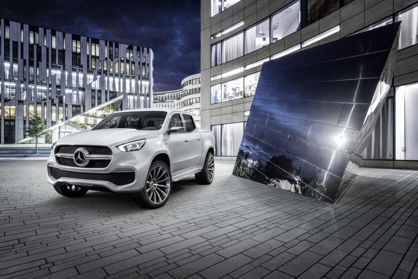 Pikap konsep Mercedes-Benz X-Class didedahkan Image #569276