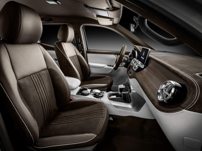 Pikap konsep Mercedes-Benz X-Class didedahkan Image #569265