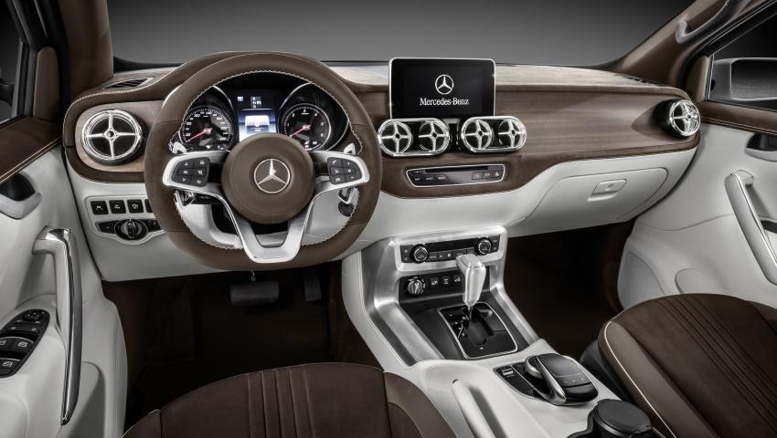 Pikap konsep Mercedes-Benz X-Class didedahkan Image #569263