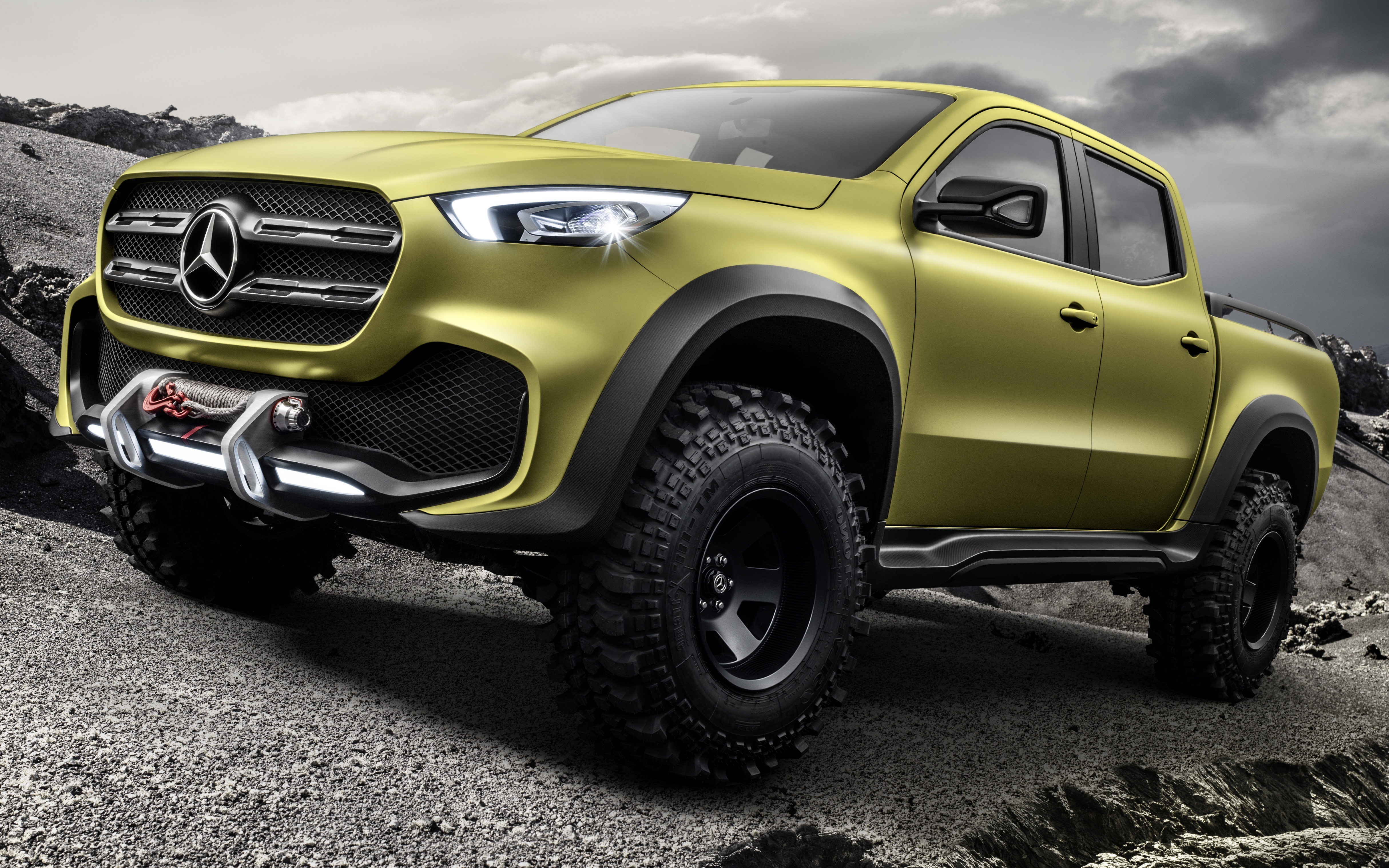 Mercedes benz concept x class pick up unveiled image 569021 for Mercedes benz pick up