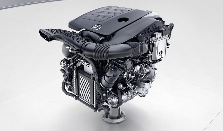 Mercedes-Benz reveals first details of new engine family – 48V, mild hybrid and electric turbo Image #571670