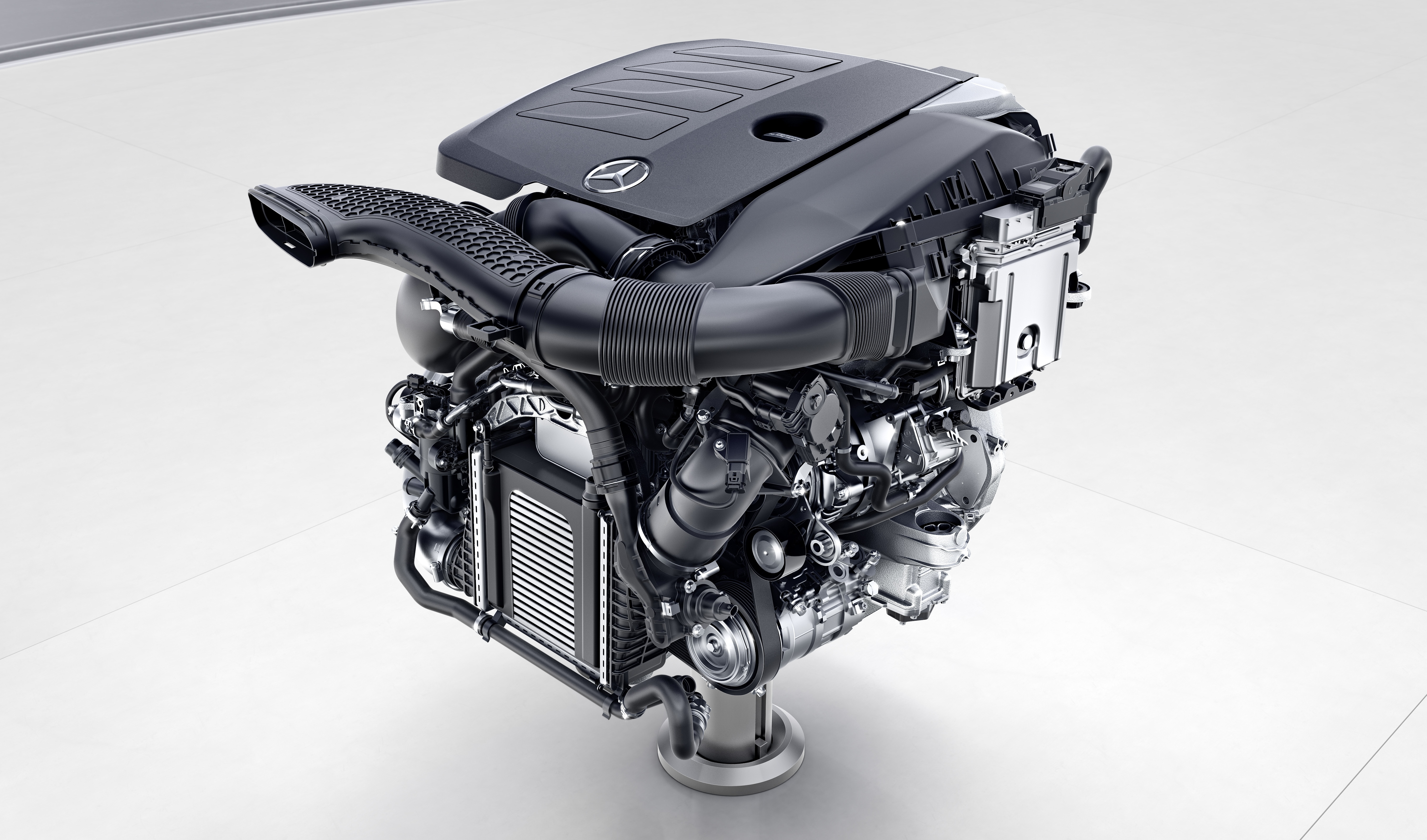 Mercedes Benz Reveals First Details Of New Engine Family