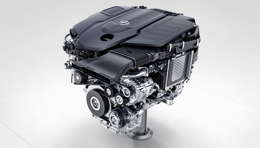 Mercedes-Benz reveals first details of new engine family – 48V, mild hybrid and electric turbo Image #571681