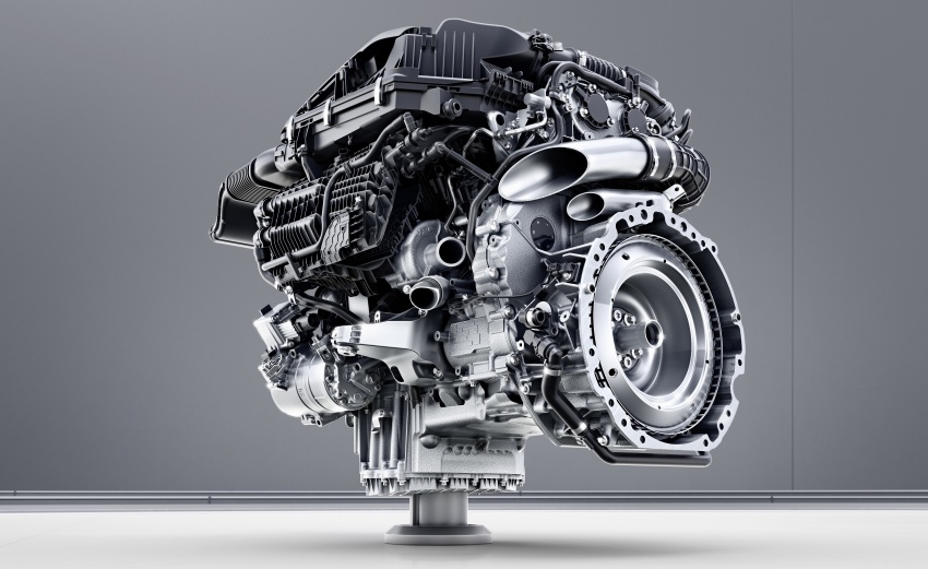Mercedes-Benz reveals first details of new engine family – 48V, mild hybrid and electric turbo Image #571682