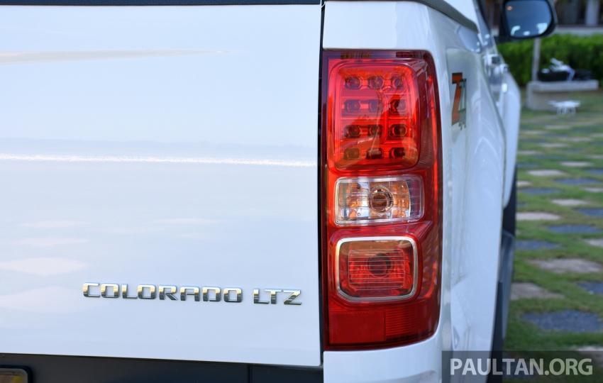 Chevrolet Colorado 'facelift' rasmi dilancarkan di Malaysia; tiga pilihan enjin, harga bermula RM100k Image #565921