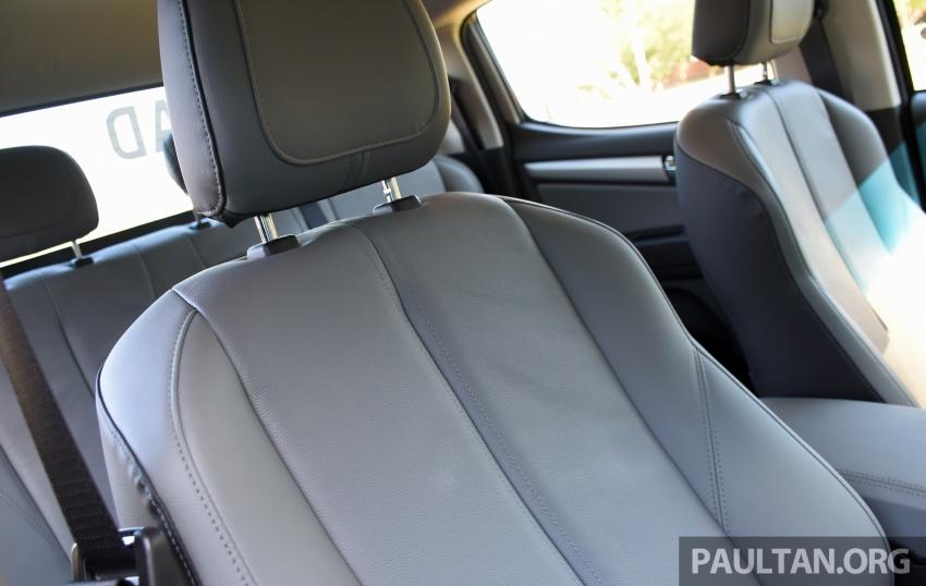 Chevrolet Colorado 'facelift' rasmi dilancarkan di Malaysia; tiga pilihan enjin, harga bermula RM100k Image #565925
